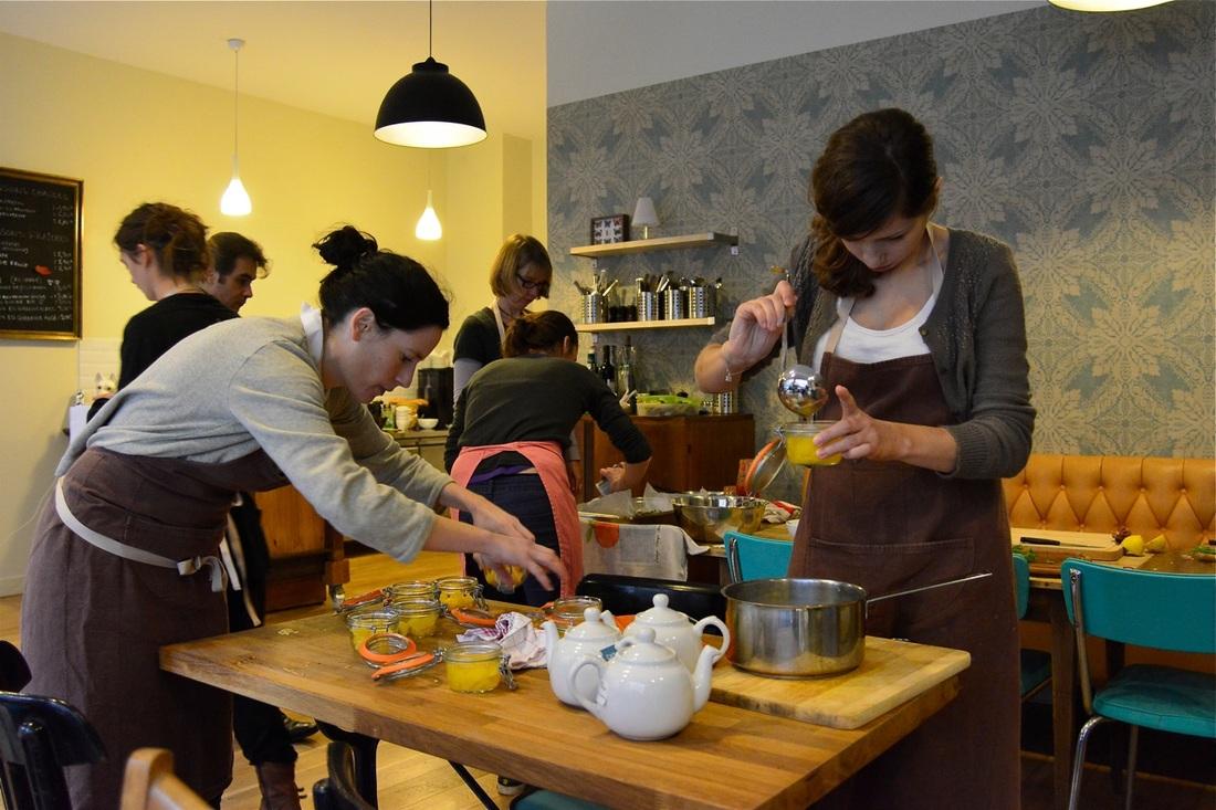 Cours de cuisine bio  Femmes Débordées